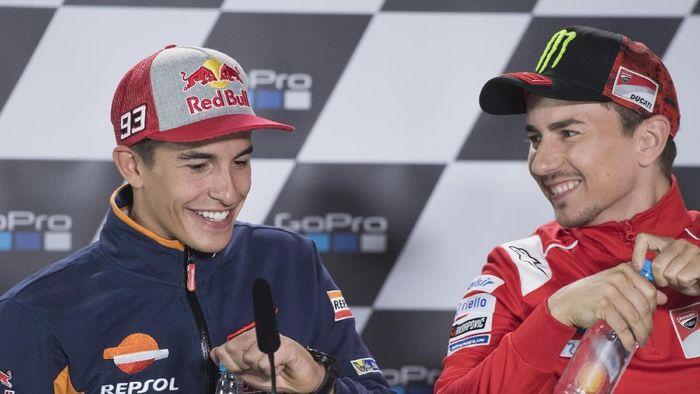 Wah Lorenzo dan Marquez Bakal Saling Berbagi Ilmu Nih