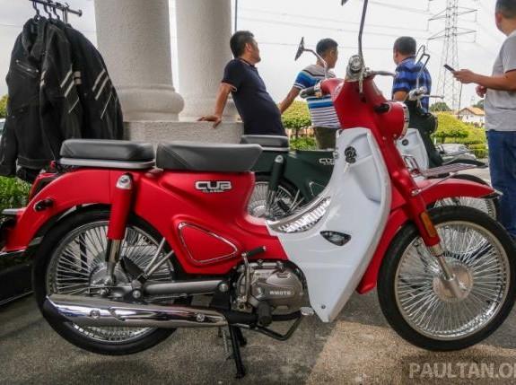 Ada Pesaing Honda Super Cub Harganya Cuma Rp15 Juta