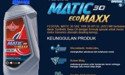 Federal Matic Ecomaxx 30 Oli Rekomendasi Untuk Honda