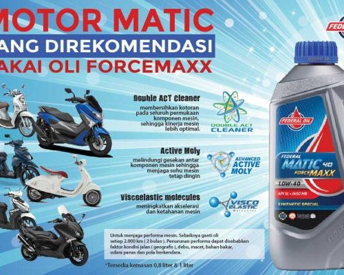 Nih Keunggulan Federal Matic EcoMax dan ForceMaxx