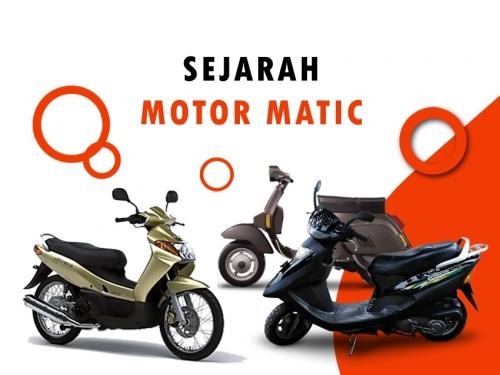 Ini Sejarahnya Motor Matik, Bukan Yamaha Nouvo Yang Pertama