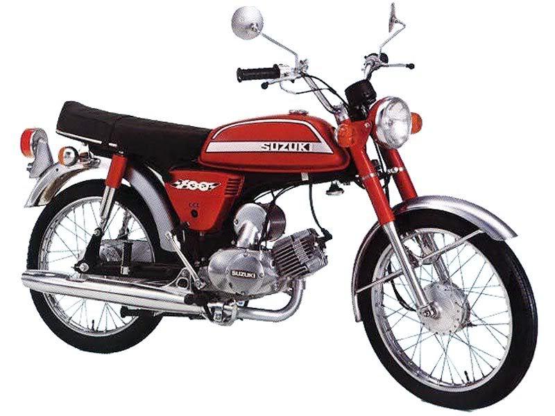 Sejarah Motor Suzuki di Indonesia