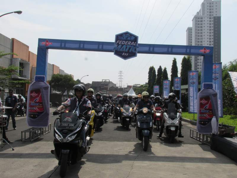 Federal Matic Day 2019 Ajak Warga Bandung Jaga Motor Supaya Tetap Spesial