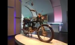 Ini Motor Pertama Honda di Indonesia