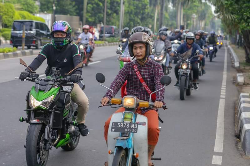 Komunitas Motoran Yuk, Riding Oke, Ngaji Juga Oke