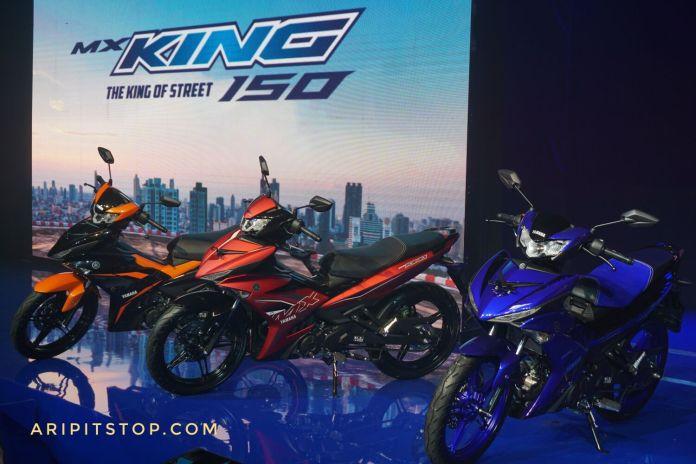 Lawan Honda Supra GTR, Yamaha MX-King Tampil Dengan Wajah Baru