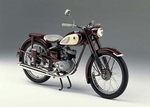 Begini Wujud Motor Pertama Yamaha