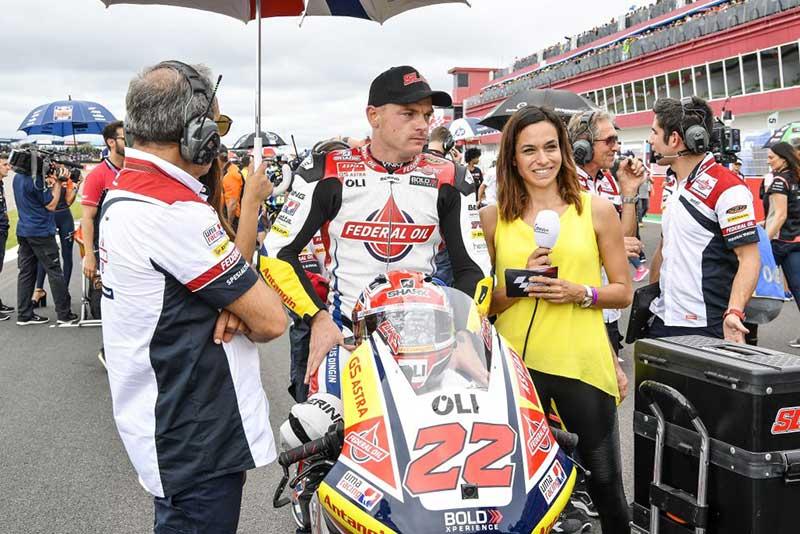 Sam Lowes Akhiri Moto2 Argentina 2019 Tanpa Senyuman