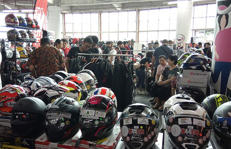 Mau Cari Helm Berkualitas ? Buruan Ke Jakarta Helmet Exhibition 2019