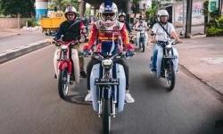 Serunya Riding Bareng Pengguna Honda Super Cub C125