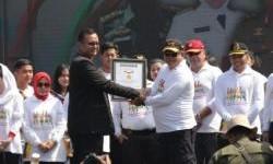 Milenial Road Safty di Surabaya Raih Rekor Muri