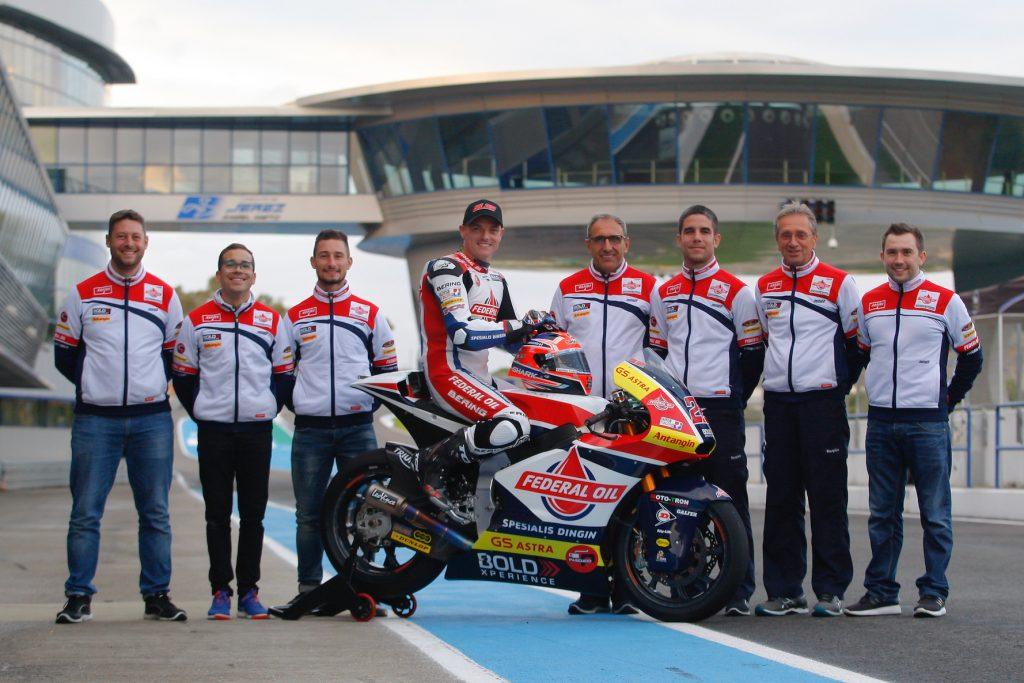 Bersama Sam Lowes, Federal Oil Targetkan Juara Dunia Moto2 2019