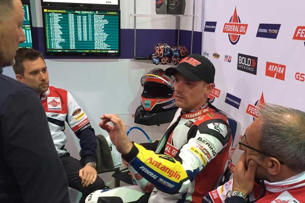 Start Posisi 6, Lowes Incar Kemenangan di Moto2 Qatar 2019