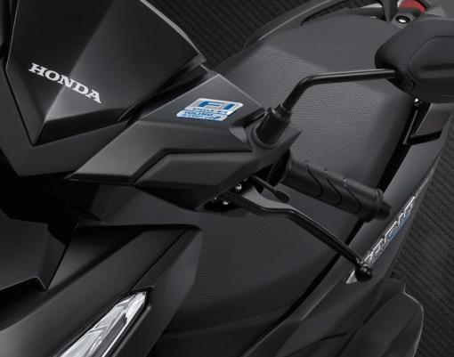 Mengenal Fungsi Parking Brake Lock Motor Honda