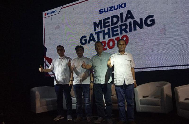 Sepanjang Tahun 2018, Penjualan Motor Suzuki Meningkat