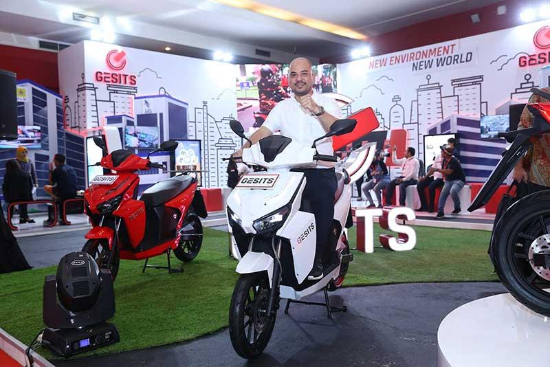 Motor Listrik Gesits Sudah Bisa Dipesan di IIMS 2019, Segini Harganya