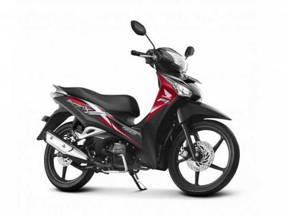 Diam-diam Honda Supra X125 Helm In Discontinue