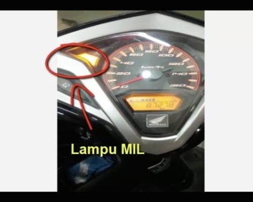 Fungsi Indikator Lampu MIL Motor Honda