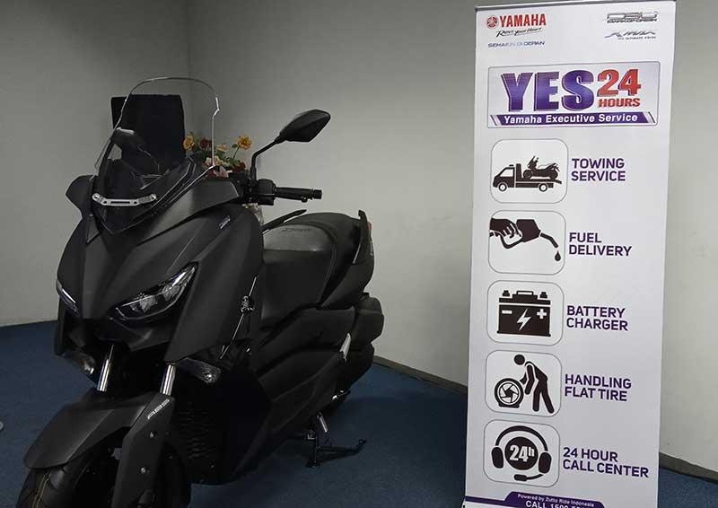 Ada Layanan YES24 Jam Untuk Pengguna Yamaha Xmax