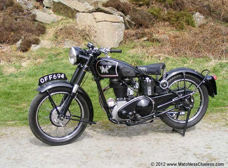Matchless G3/L Salah Satu Motor Terpopuler di Masa Perang Dunia II