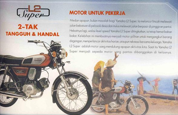 Yamaha L2 Super Motor Sport Pertama Yamaha