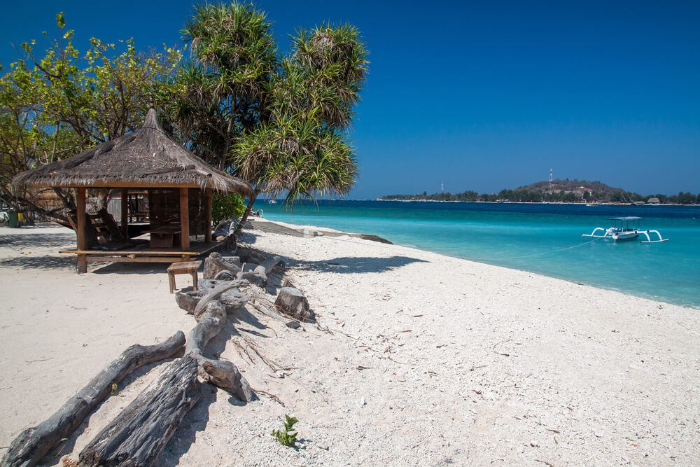 Wisata Pantai Gili Trawangan, Gili Meno, dan Gili Air