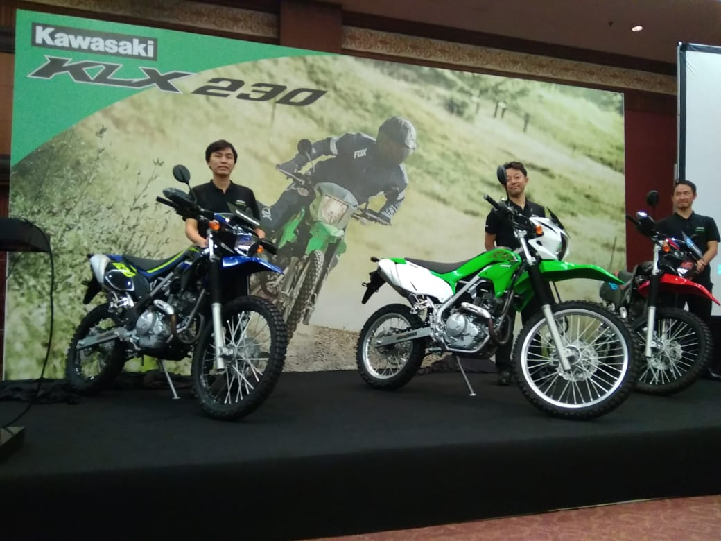 Kawasaki KLX 230 Meluncur di Jakarta Fair 2019, Harganya Mulai Rp39,9 Juta