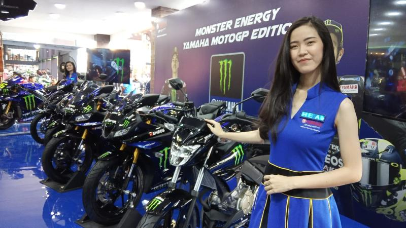 Yamaha Luncurkan 5 Motor Livery  Monster Energy Yamaha MotoGP Edition 2019