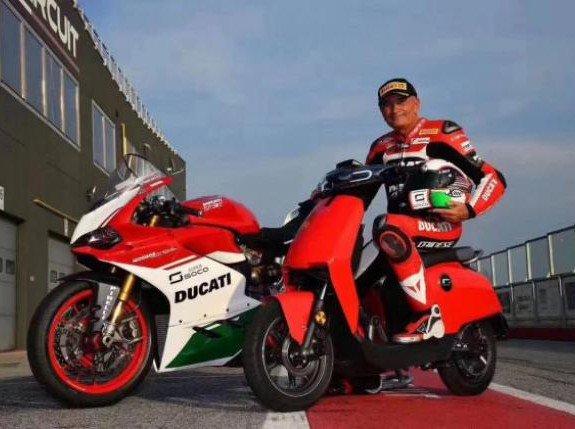 Kolaborasi Ducati Bersama Pabrikan Motor China Bikin Motor Listrik
