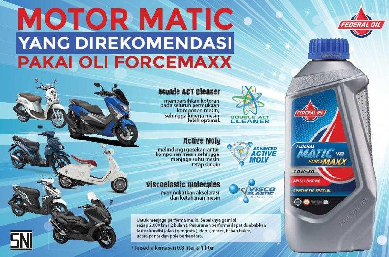 Yang Pakai Motor Matic Yamaha, Berikut Ini Pilihan Oli Untuk Motor Matik Yamaha