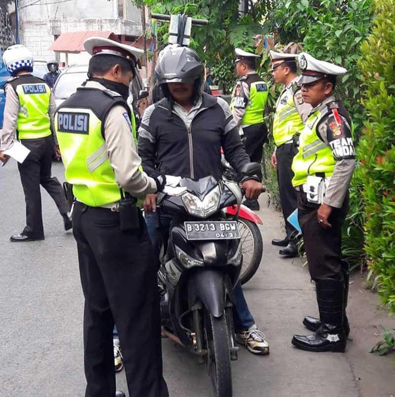 Tahukah Kamu, 3618 Generasi Milenial Terjaring Operasi Polisi, 2419 Ditangkap Lawan Arah