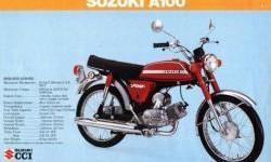 Suzuki A100 Motor Paling Keren di Zamannya