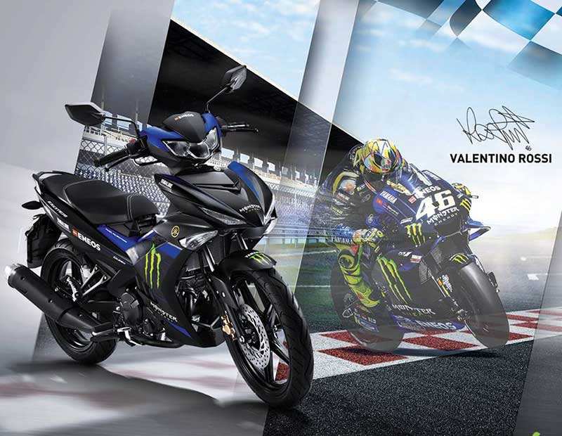 Yamaha Luncurkan MX-King 150 Livery Monster Energy
