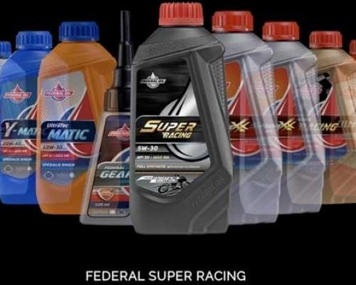 Federal Super Racing, Diformulasikan Khusus Untuk Motor Performa Tinggi