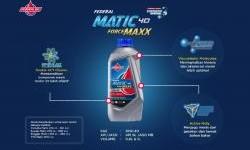 Federal Matic Forcemaxx  Oli Spesial Untuk Yamaha Nmax