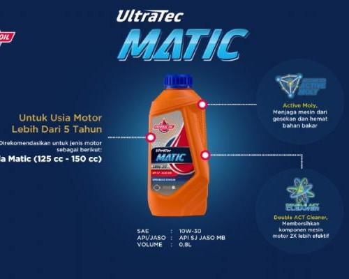 Federal Matic Ultratec, Oli Rekomendasi Untuk Motor Matic Honda Yang Usianya Sudah Tua