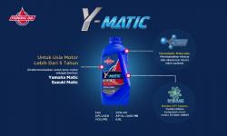Federal Y-Matic, Oli Spesial Untuk Motor Matic Yamaha  Lebih Dari 5 Tahun