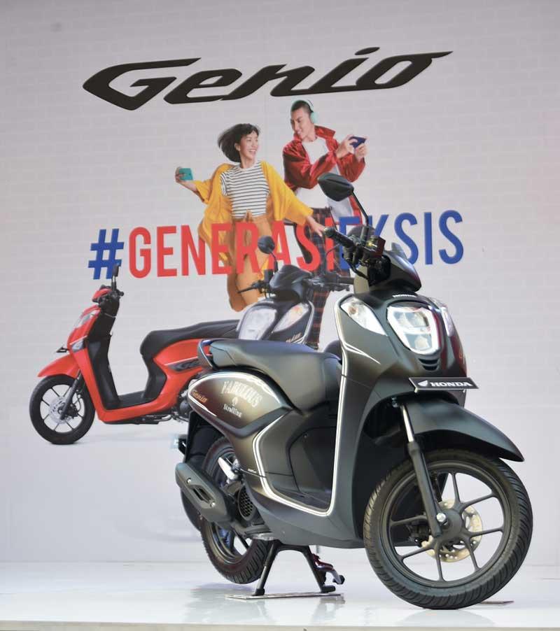 Motor Matic Terbaru Honda Genio Cocok Buat Kamu Yang Ingin Selalu Tampil Eksis