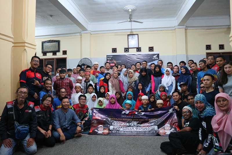 Tutup Ramadhan, Klub Honda PCX Santuni Anak Yatim