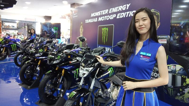 Yamaha R15 Livery Monster Energy Yamaha MotoGP Sudah Bisa Dipesan