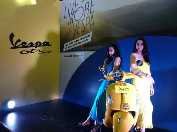 Piaggio Indonesia Luncurkan Skuter Semok Vespa GTS Super 150 i-get