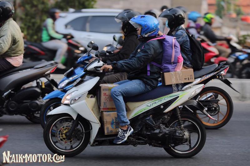 Begini Posisi Riding Supaya Tidak Mudah Capek Saat Touring