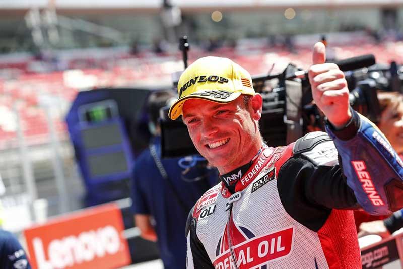 Pebalap Federal Oil Moto2, Sam Lowes Datang ke Indonesia