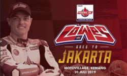 Surat Himbauan di Kegiatan Sam Lowes Goes to Jakarta