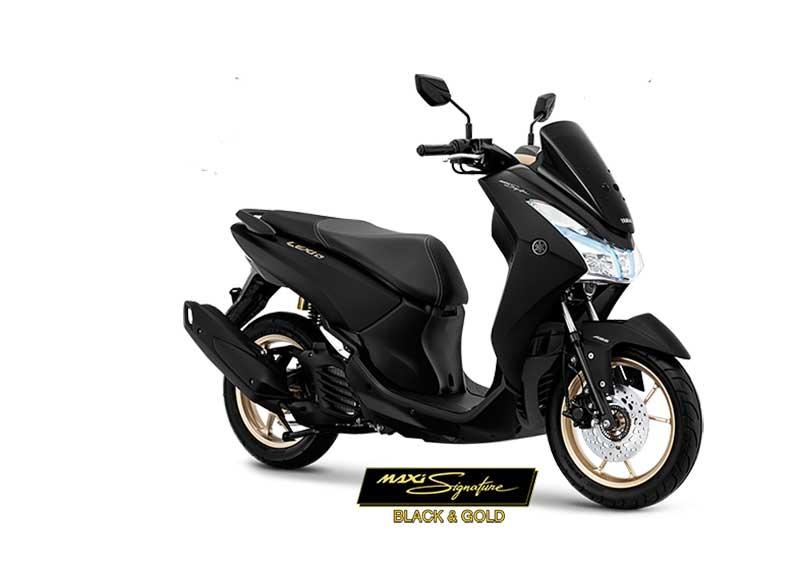 Yamaha Lexi Tampil Berkelas Dengan Edisi MAXI Signature
