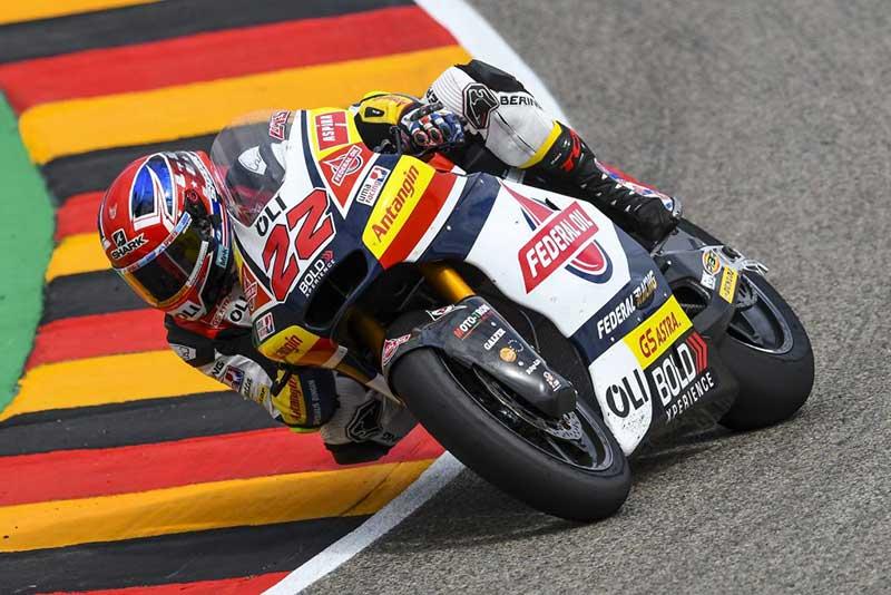 Meski Lutut Sakit, Lowes Bisa Tampil Maksimal di FP1 Dan FP2 Moto2 Jerman