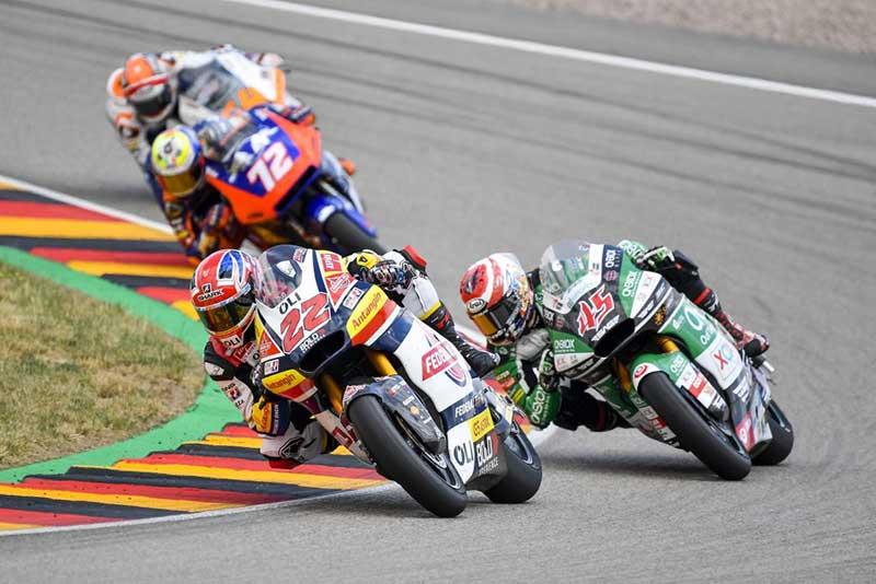 Pakai Ban Bekas, Sam Lowes Berhasil Tambah Poin di Moto2 Jerman 2019
