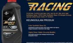 Rekomendasi Oli Motor Sport, Federal Super Racing Pilihannya