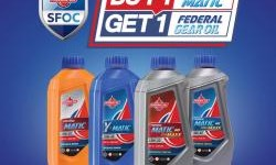 Beli Federal Matic, Gratis  Federal Gear Oil Matic