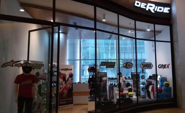 De Ride Store Gudangnya Apparel Bikers di Jakarta Selatan
